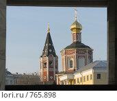 Взгляд на город. Стоковое фото, фотограф Голов Евгений Эдуардович / Фотобанк Лори