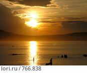 Купить «Озеро Белё, закат», фото № 766838, снято 6 июля 2007 г. (c) Куприянов Евгений / Фотобанк Лори