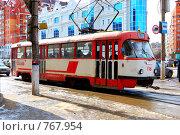 Купить «Трамвай», фото № 767954, снято 23 марта 2009 г. (c) Скуратов Алексей / Фотобанк Лори