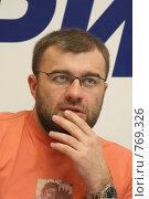 Купить «Знаменитости. Михаил Пореченков», фото № 769326, снято 22 марта 2009 г. (c) Gagara / Фотобанк Лори