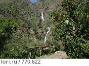 Купить «Водопад в горах», фото № 770622, снято 21 октября 2008 г. (c) Кудрина Надежда / Фотобанк Лори