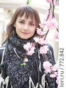 Купить «Улыбающаяся девушка», фото № 772842, снято 24 марта 2009 г. (c) Elena Rostunova / Фотобанк Лори