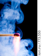 Купить «Момент загорания спички», фото № 773550, снято 19 февраля 2020 г. (c) Александр Fanfo / Фотобанк Лори