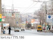Купить «Московский проспект. Чебоксары», фото № 775186, снято 28 марта 2009 г. (c) Андрей Соколов / Фотобанк Лори