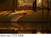 Фрагмент парка. Стоковое фото, фотограф Пакалин Сергей / Фотобанк Лори