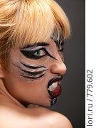 Купить «Девушка в образе дикой кошки», фото № 779602, снято 22 марта 2009 г. (c) Игорь Жоров / Фотобанк Лори