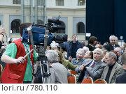 Купить «Телевизионный оператор», фото № 780110, снято 30 марта 2009 г. (c) Медведева Мила / Фотобанк Лори