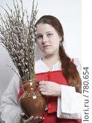Верба. Стоковое фото, фотограф Омельян Светлана / Фотобанк Лори