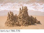 Купить «Замок из песка», фото № 780770, снято 18 января 2018 г. (c) Losevsky Pavel / Фотобанк Лори