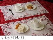Купить «Белый завтрак на двоих», фото № 784478, снято 26 марта 2009 г. (c) Ольга Лерх Olga Lerkh / Фотобанк Лори