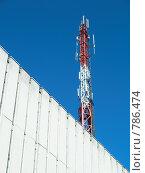 Купить «Антенны сотовой связи», фото № 786474, снято 28 марта 2009 г. (c) Andrey M / Фотобанк Лори
