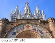 Купить «Храм Святого Сердца в Барселоне», фото № 791810, снято 12 марта 2009 г. (c) Брыков Дмитрий / Фотобанк Лори