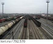 Железнодорожные составы. Стоковое фото, фотограф Егоров Алексей / Фотобанк Лори