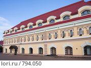 Купить «Историческое здание в Уфе», фото № 794050, снято 1 октября 2008 г. (c) Михаил Валеев / Фотобанк Лори