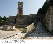 Башня Суши. Греция, о.Корфу (2008 год). Стоковое фото, фотограф Олег Гусев / Фотобанк Лори