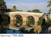 Купить «Мост через реку Яябо в г. Санкти-Спиритус», фото № 796494, снято 4 января 2008 г. (c) Борис Иванов / Фотобанк Лори
