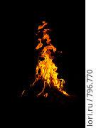 Огонь. Стоковое фото, фотограф Ирина Кожемякина / Фотобанк Лори