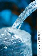 Купить «Струя воды», фото № 799934, снято 20 августа 2018 г. (c) Александр Fanfo / Фотобанк Лори