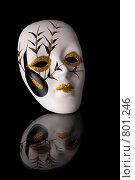 Карнавальная маска. Стоковое фото, фотограф Алексей Ведерников / Фотобанк Лори