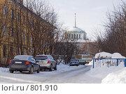 Купить «Привокзальная улица», фото № 801910, снято 25 марта 2009 г. (c) Parmenov Pavel / Фотобанк Лори