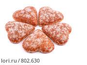 Купить «Печенье в виде сердечка», фото № 802630, снято 7 ноября 2007 г. (c) Галина Короленко / Фотобанк Лори