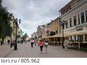 Большая покровская улица нижний новгород (2008 год). Редакционное фото, фотограф Светлана Архи / Фотобанк Лори