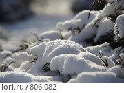 Солнечный сугроб. Стоковое фото, фотограф Дмитрий Левченко / Фотобанк Лори