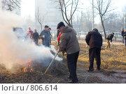 Купить «Субботник», фото № 806614, снято 11 апреля 2009 г. (c) Сорокина Юлия / Фотобанк Лори