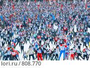 Лыжня России (2008 год). Редакционное фото, фотограф Сергей / Фотобанк Лори