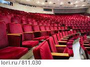 Зрительный зал. Стоковое фото, фотограф Losevsky Pavel / Фотобанк Лори