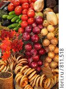 Купить «Свежие овощи», фото № 811518, снято 13 октября 2008 г. (c) Losevsky Pavel / Фотобанк Лори
