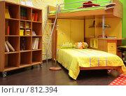 Купить «Детская комната с двухъярусной кроватью», фото № 812394, снято 22 августа 2018 г. (c) Losevsky Pavel / Фотобанк Лори
