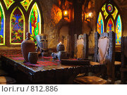 Купить «Интерьер ресторана», фото № 812886, снято 22 января 2019 г. (c) Лямзин Дмитрий / Фотобанк Лори