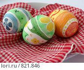 Купить «Пасхальные яйца», фото № 821846, снято 19 апреля 2009 г. (c) Типляшина Евгения / Фотобанк Лори