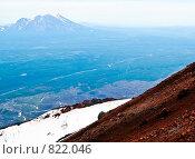 Купить «Камчатка. Вид с Авачинского вулкана», фото № 822046, снято 5 августа 2007 г. (c) Николай Коржов / Фотобанк Лори