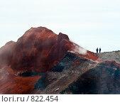 Купить «Камчатка. На вершине Авачинского вулкана», фото № 822454, снято 5 августа 2007 г. (c) Николай Коржов / Фотобанк Лори