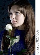 Купить «Загадочность», фото № 827666, снято 13 апреля 2009 г. (c) Вероника Галкина / Фотобанк Лори