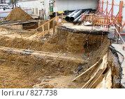 Купить «Ремонтные работы. Замена трубопровода», фото № 827738, снято 6 сентября 2008 г. (c) Юлия Подгорная / Фотобанк Лори