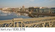 Купить «Нева. Весна. Ледоход. Санкт-Петербург», эксклюзивное фото № 830378, снято 22 апреля 2009 г. (c) Александр Алексеев / Фотобанк Лори