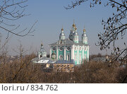 Купить «Вид на Успенский собор, г. Смоленск», фото № 834762, снято 10 апреля 2009 г. (c) Denis Kh. / Фотобанк Лори