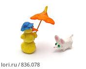 Купить «Пластилиновые игрушки», фото № 836078, снято 25 апреля 2018 г. (c) Парушин Евгений / Фотобанк Лори