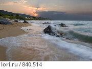 Купить «Закат на Эгейском море», фото № 840514, снято 30 августа 2008 г. (c) Максим Иванов / Фотобанк Лори