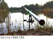 Купить «Рыболовный пейзаж», фото № 844186, снято 5 августа 2008 г. (c) Евгений Солдатов / Фотобанк Лори