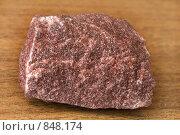 Купить «Образцы минералов. Кварцит малиновый», фото № 848174, снято 1 мая 2009 г. (c) Денис Шароватов / Фотобанк Лори