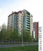 Купить «Новая высотка», фото № 851470, снято 6 мая 2009 г. (c) Зуев Андрей / Фотобанк Лори
