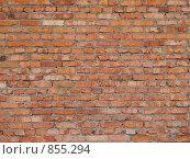 Кирпичная стена. Стоковое фото, фотограф Олег Колташев / Фотобанк Лори