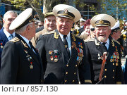 Купить «Военный парад, 9 мая 2009 года. Севастополь, Украина», фото № 857130, снято 9 мая 2009 г. (c) Павел Вахрушев / Фотобанк Лори