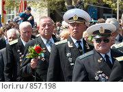 Купить «Военный парад, 9 мая 2009 года. Севастополь, Украина», фото № 857198, снято 9 мая 2009 г. (c) Павел Вахрушев / Фотобанк Лори