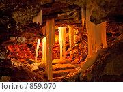 Купить «Грот в Кунгурской ледяной пещере», фото № 859070, снято 5 мая 2009 г. (c) Ильин Сергей / Фотобанк Лори