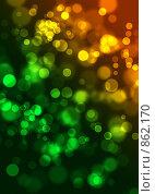Купить «Абстрактный градиентный фон с имитацией эффекта цифрового боке», иллюстрация № 862170 (c) Лисовская Наталья / Фотобанк Лори